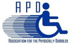 APD Wheelchair Logo with Words - Col small